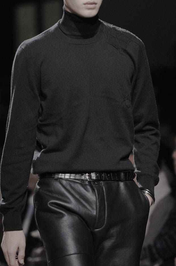 Leather trousers Hermes FW14
