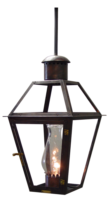 French Quarter On Hanging Stem Copper Lights Copper Lighting Electric Lanterns Bevolo