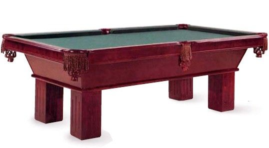 The Beringer James Edward Billiard Table. Clean Design And Smooth Surface  Give This Pool Table