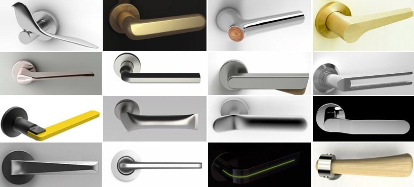 Hands On Door Handles Designboom Com Door Handles Door Handle Design Door Design