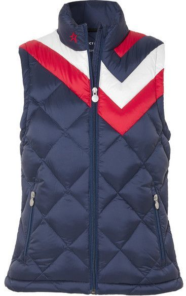 Perfect Moment - Vale Quilted Down Vest - Navy 4041ee2ff