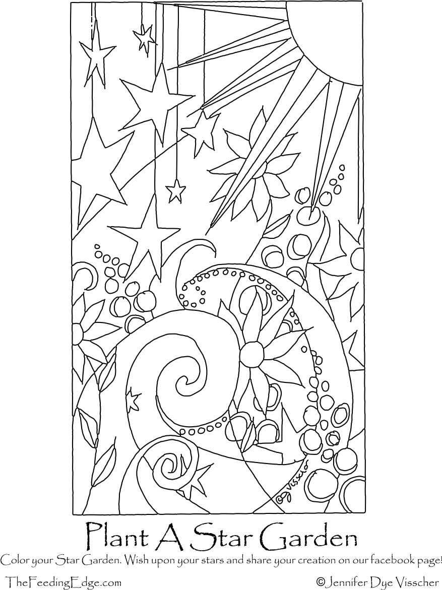 plantastargarden coloringpage kleurplaten