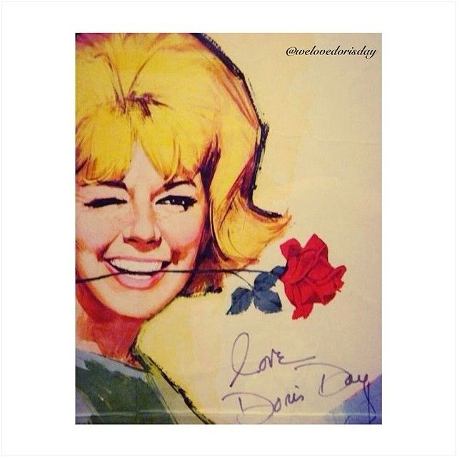 dorisday | Doris day movies, Dory, Caricature