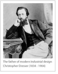 The father of modern industrial design Christopher Dresser (1834-1904)