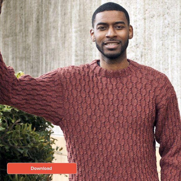 FREE Cascade men\'s sweater pattern   Männer