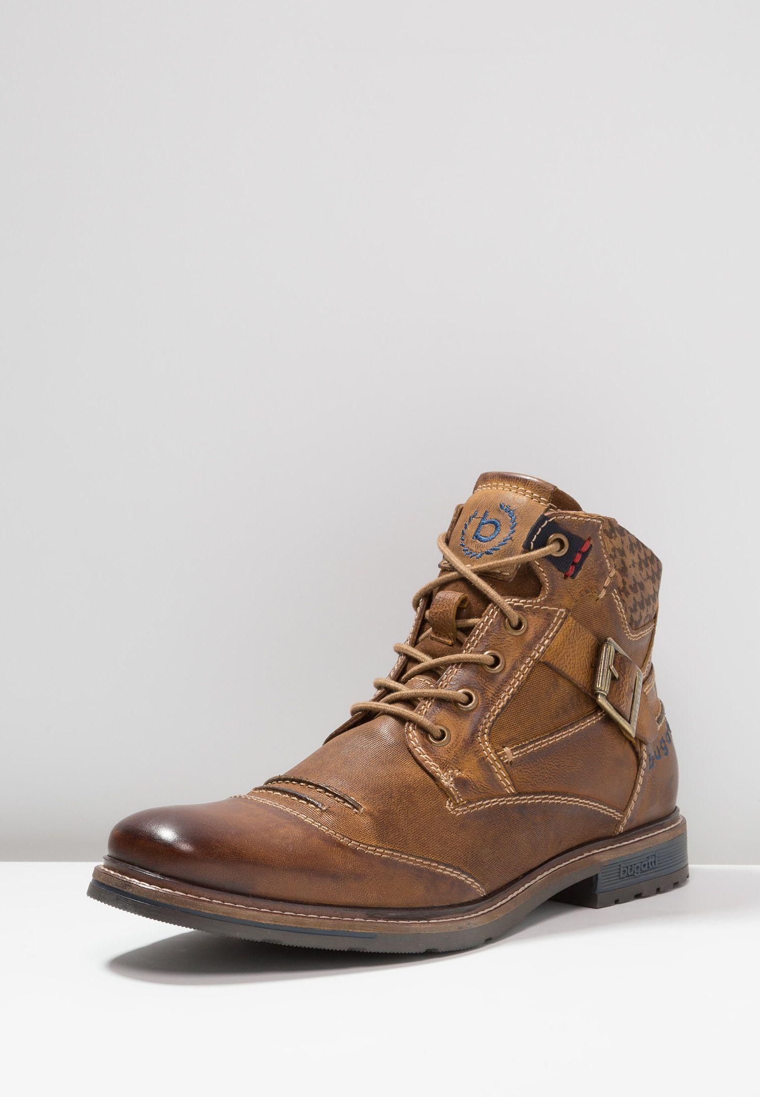 best sneakers 965a1 2d4d1 Lace-up ankle boots - cognac @ Zalando.co.uk 🛒 in 2019 ...