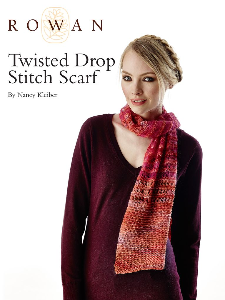 Twisted Drop Stitch Scarf free pattern   Knitted Cowls & Scarves ...