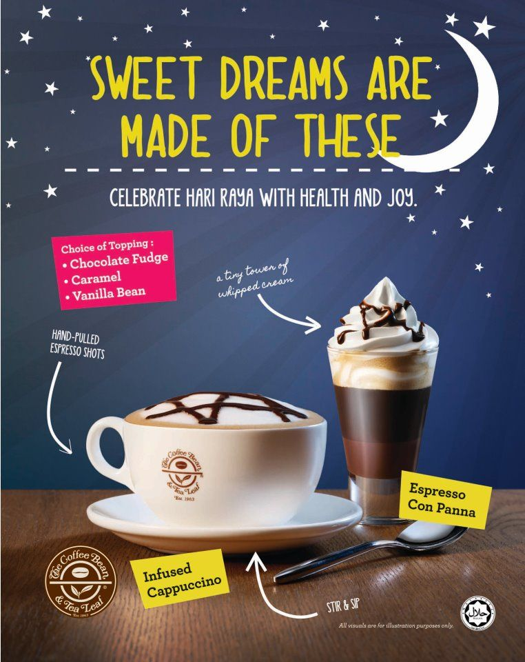 Coffee Bean Tea Leaf Hari Raya 2012 Promotion Tea Leaves Coffee Beans Caramel Fudge