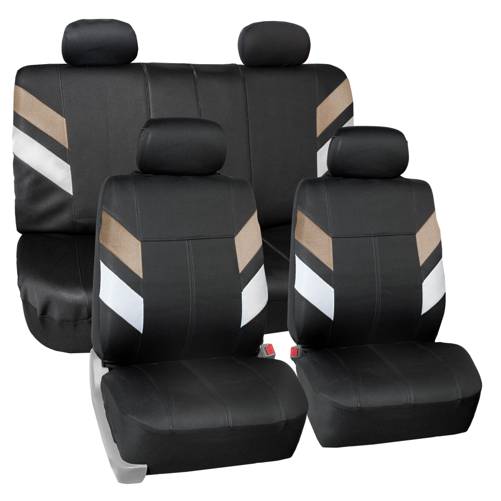 FH Group, Neoprene Car Seat Covers for Auto Car SUV Van 4