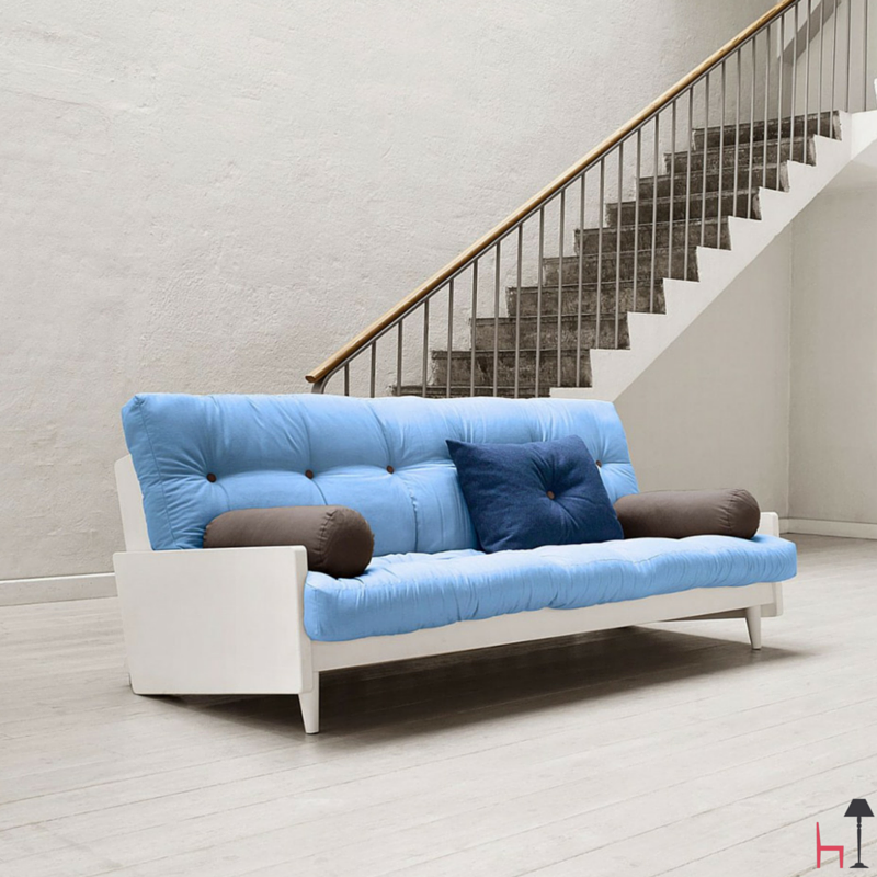 Indie Sofa Bed White By Karup On Lovethesign Products Convertible Sofa Bed Sofa Bed Black White Sofa Bed
