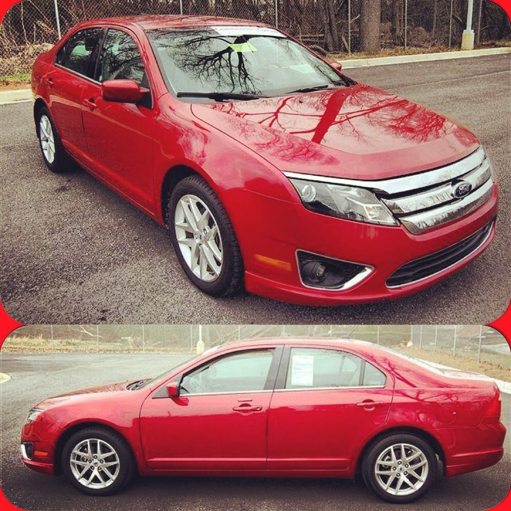 Red Ford Fusion Used Ford Cars For Sale Used Car Ford