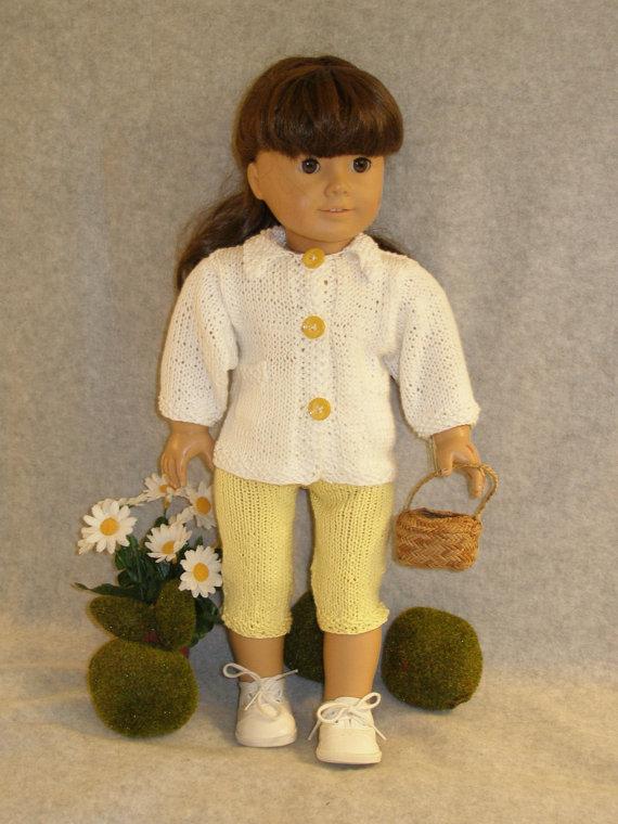 DAISY GIRL Knitting Pattern von knittingfordolls auf Etsy | Puppen ...