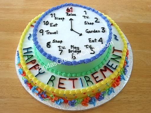 Perfect Cake For Any Type Of Retirement Party