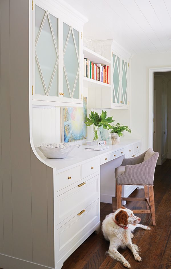 Clean & Modern | Home office space, Home office design ...