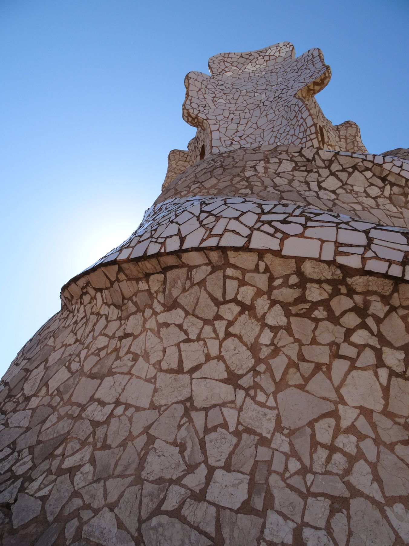 Sculpture on the roof of La Pedrera / Casa Mila, Barcelona