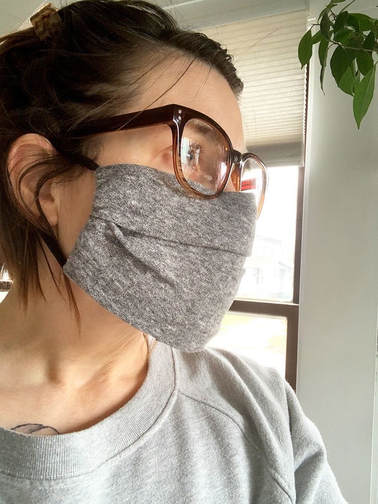 Photo of How to Make Your Own Face Mask, No Sewing Skills Required