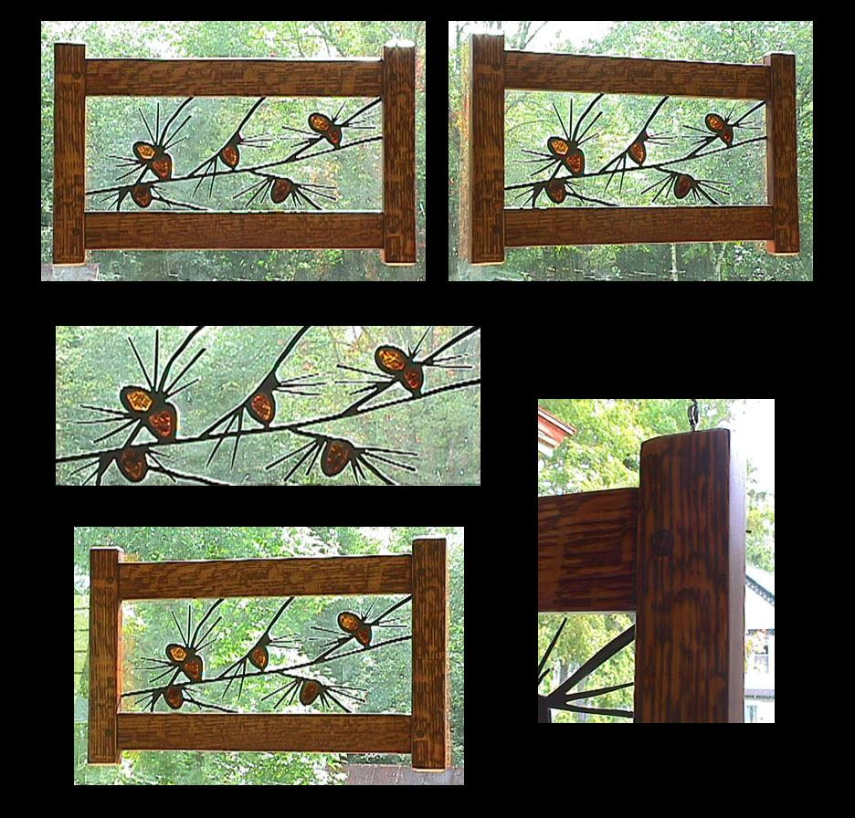 Arts And Crafts Stained Glass Panels Crafting
