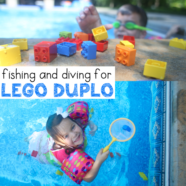 Diving and Fishing for LEGO | Lego, Lego activities, Lego ...