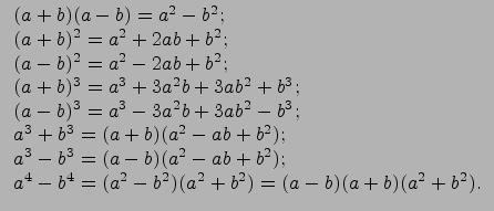 Решение задачи по теме формулы сокращенного умножения программа решить задачу по условию