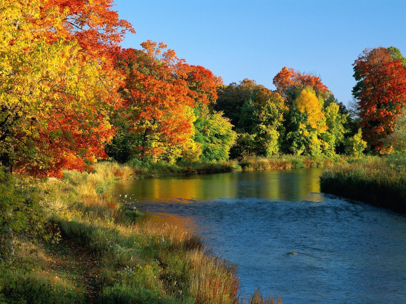landscape backgrounds pond in autumn landscape free wallpaper in free desktop backgrounds