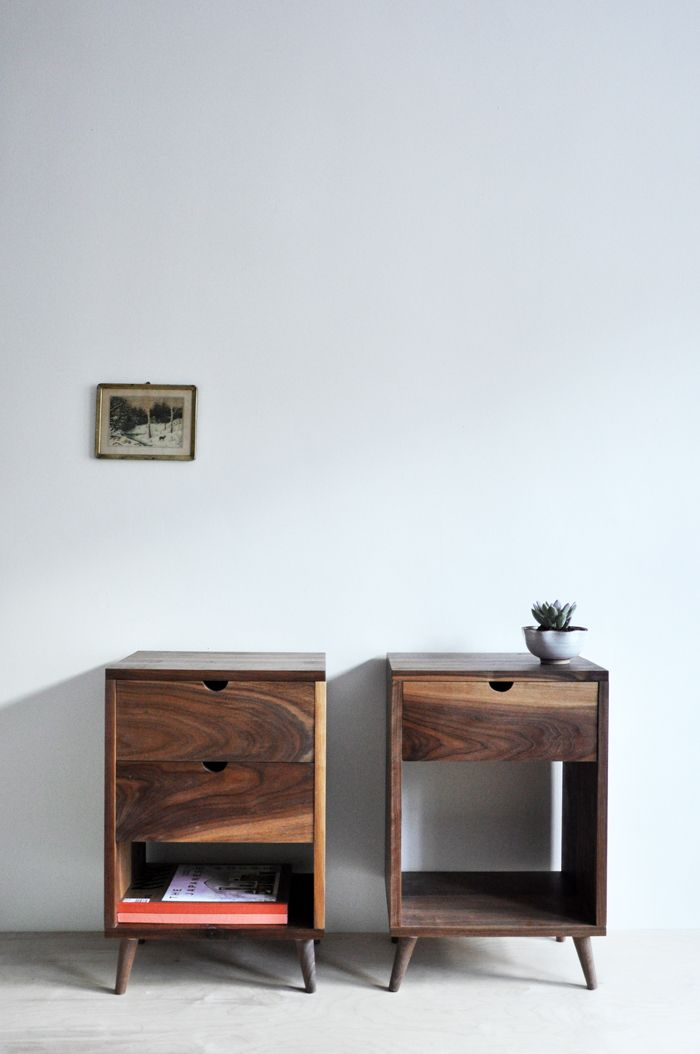 Beautiful bedside tables from Objets Mécaniques Home Sweet Home - Sweet Home D Meubles A Telecharger