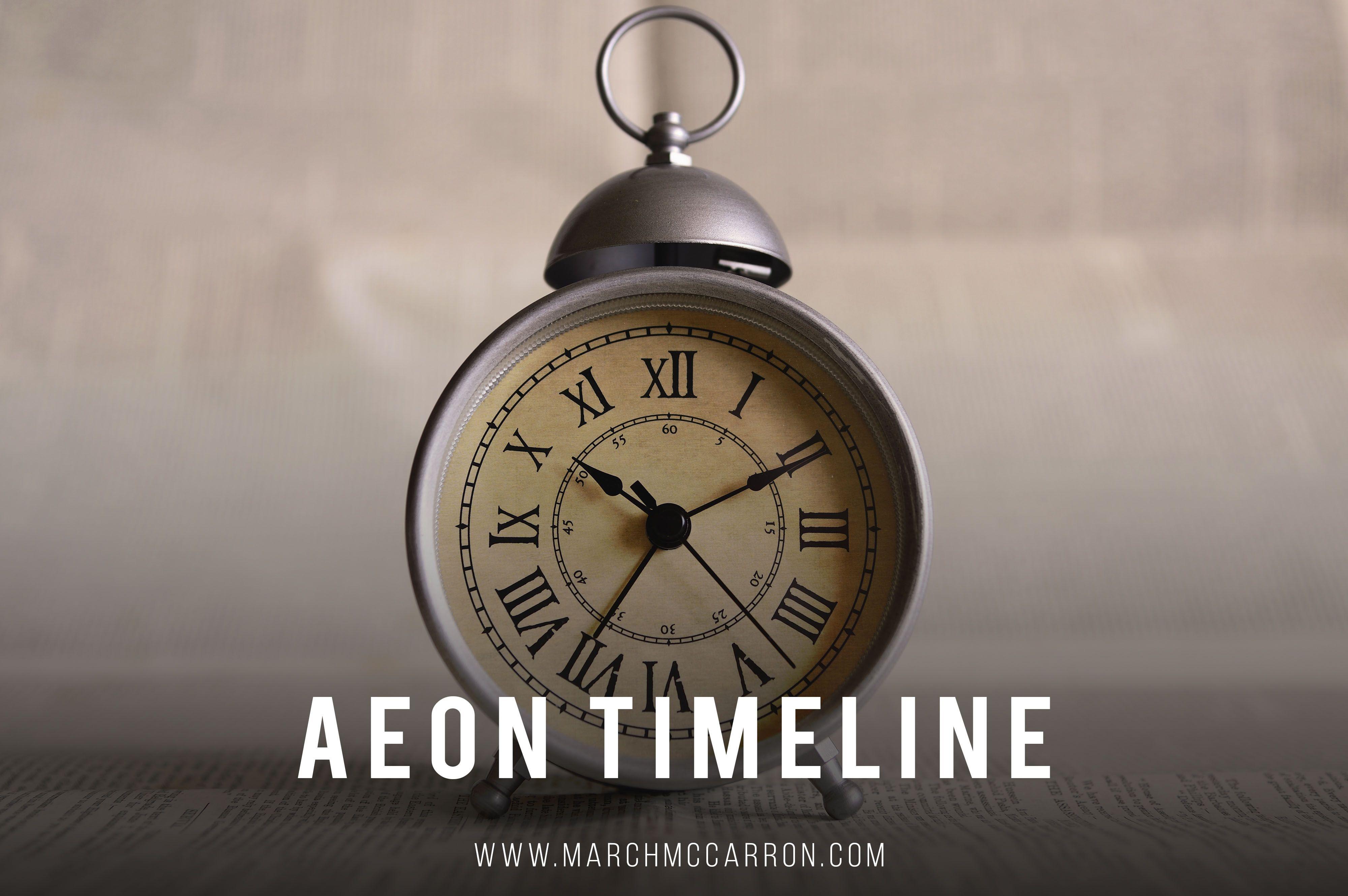 Aeon timeline alarm clock color clock