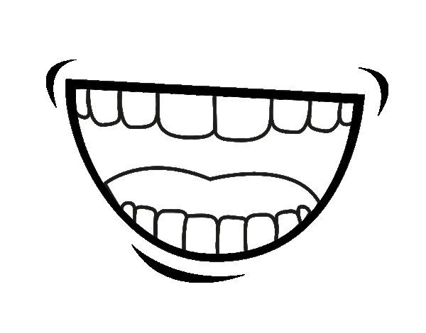 Mouth Coloring Page Coloring Pages Coloring Pages For Girls