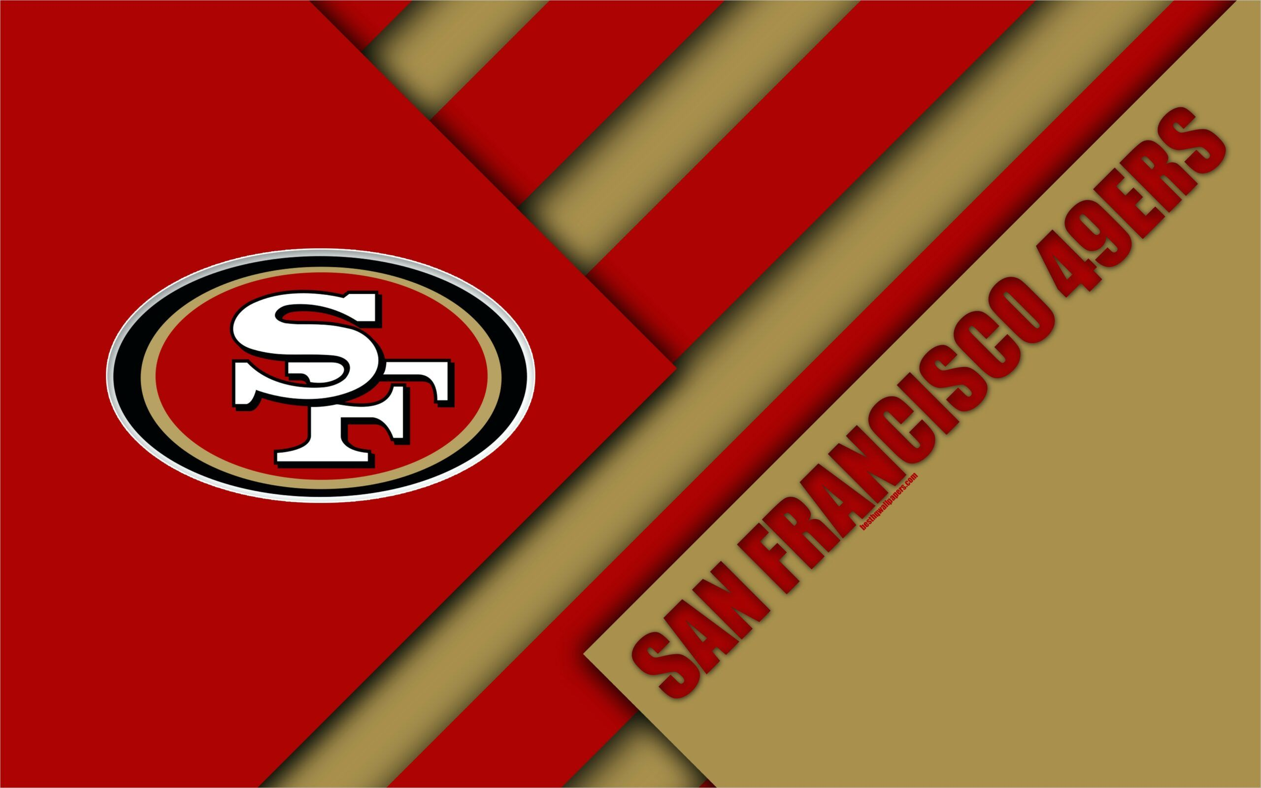 49ers Background Wallpaper 4k 2019 In 2020 San Francisco 49ers 49ers Nfc West