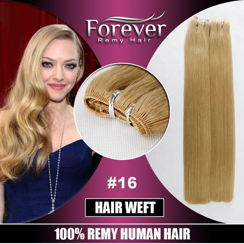 Forever Hair Brand Top Grade Brazillian Huamn Double Drawn 150g Hair
