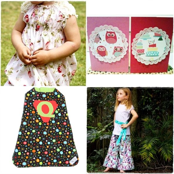 www.wrappingribbonsandpaper.com.au as part of Handmade Kids Fabulous Friday Finds