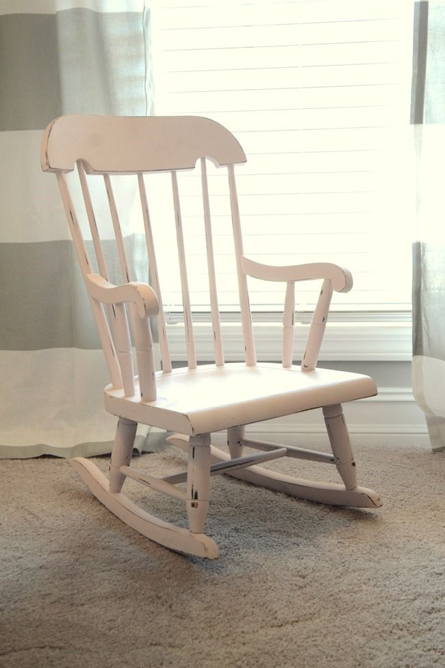 Delicieux Little Pink Rocking Chair