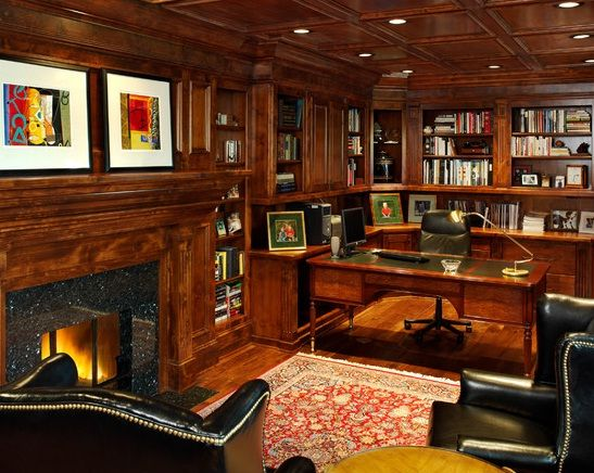30 Best Traditional Home Office Design Ideas Traditional