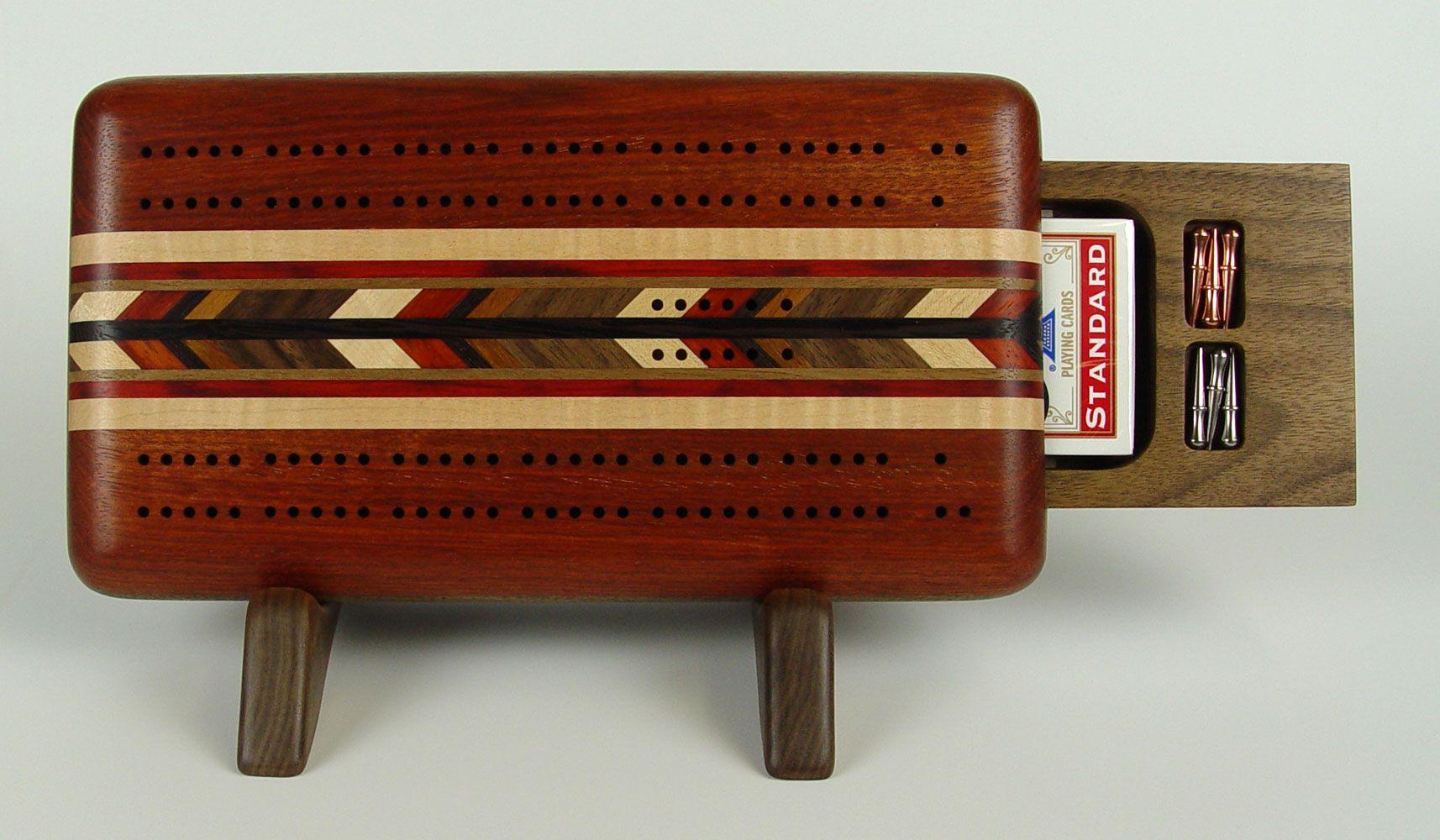 bloodwood 2 player cribbage board Cribbage board