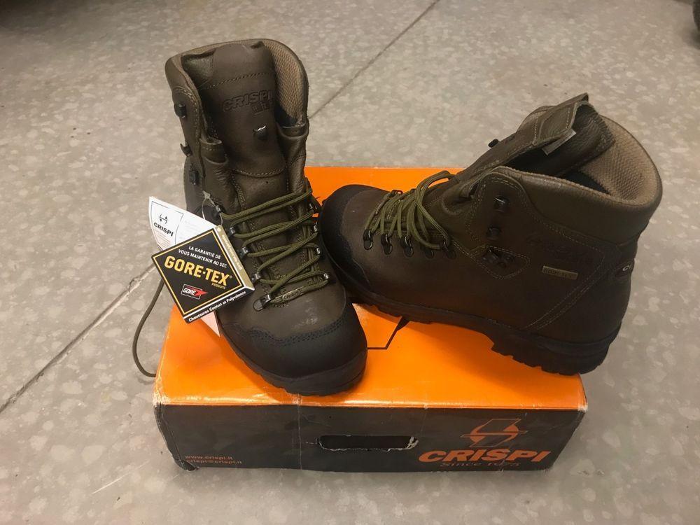 best authentic ea345 ea7ec Crispi Splugen HTG Goretex Hunting Boots Size 9 Mens ...