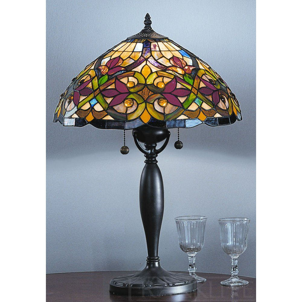 Burlesque tiffany table lamp shade stain glass pinterest burlesque tiffany table lamp shade mozeypictures Gallery