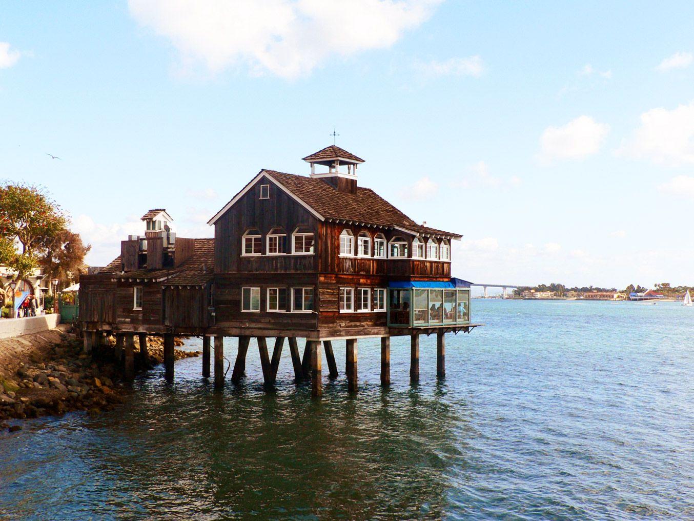 Image Detail For Seaport Village San Go Pier Café