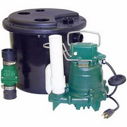 Zoeller Model 105 Drain Pump System With M53 Sump Pump Basin 105 0001 Drain Pump Sump Pump Sink Drain