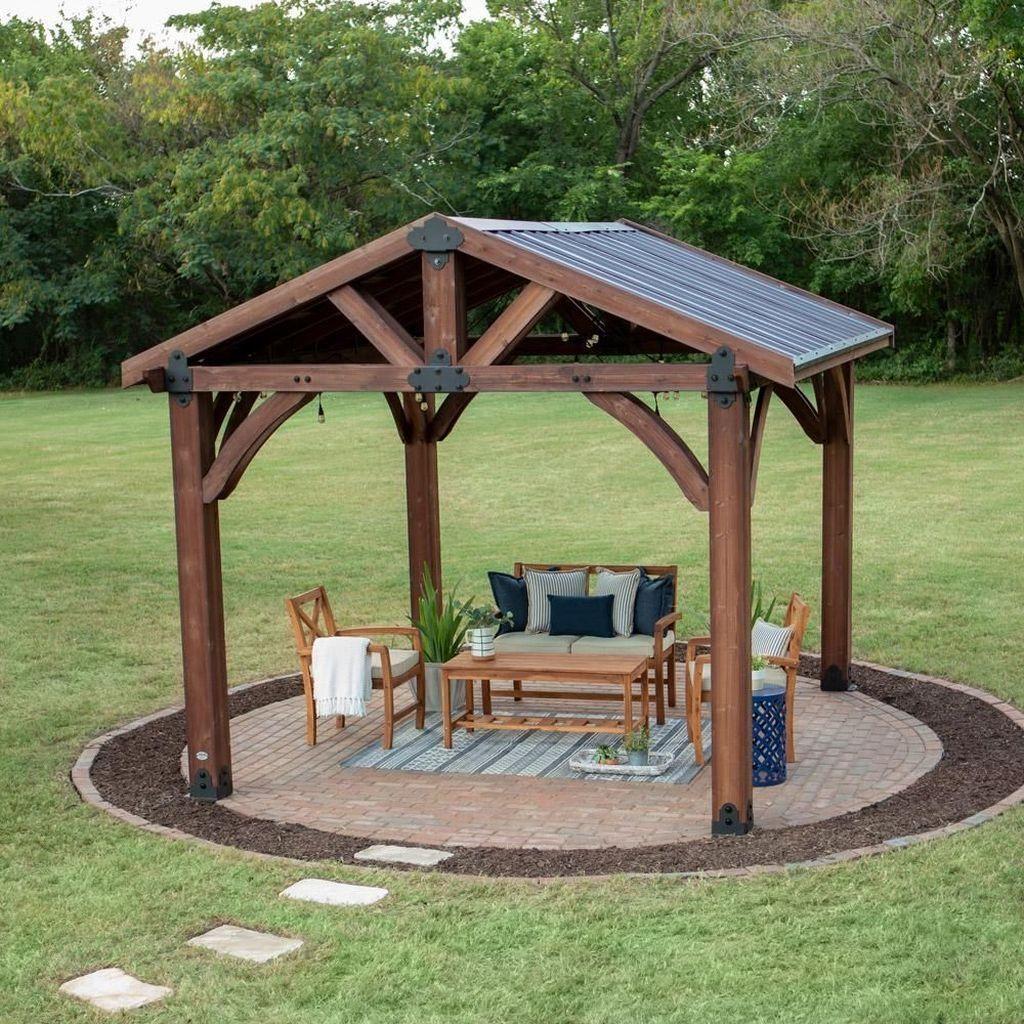 30 Simple Gazebo Design Ideas That So Inspire In 2020 Backyard Pavilion Patio Gazebo Backyard Gazebo,United Airline Baggage Fees International