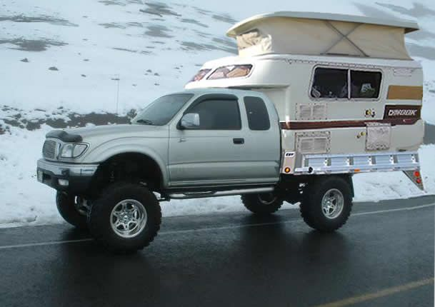 Toyota Tacoma To Rv Thread Camper And Truck Photos Toyota