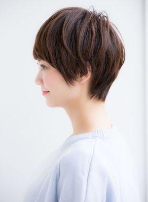 ショートヘアはサイドが命 シルエットがキレイな美しいショートヘアまとめ ヘアスタイル ヘアスタイリング 美髪