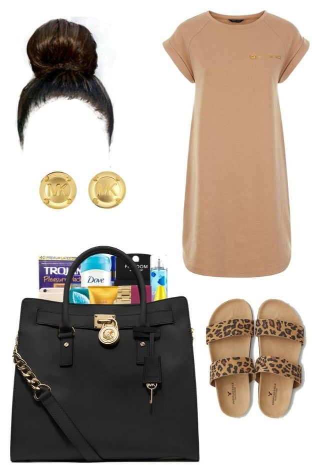 """""""Nicki Minaj Ft Cassie //: The Boys"""" by queen-miy ❤ liked on Polyvore featuring American Eagle Outfitters, MICHAEL Michael Kors and Michael Kors"""