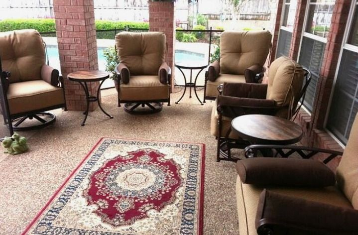 Veranda deep seating from Pride Family Brands Enjoy Your Outdoor Room - Yard Art Patio & Fireplace