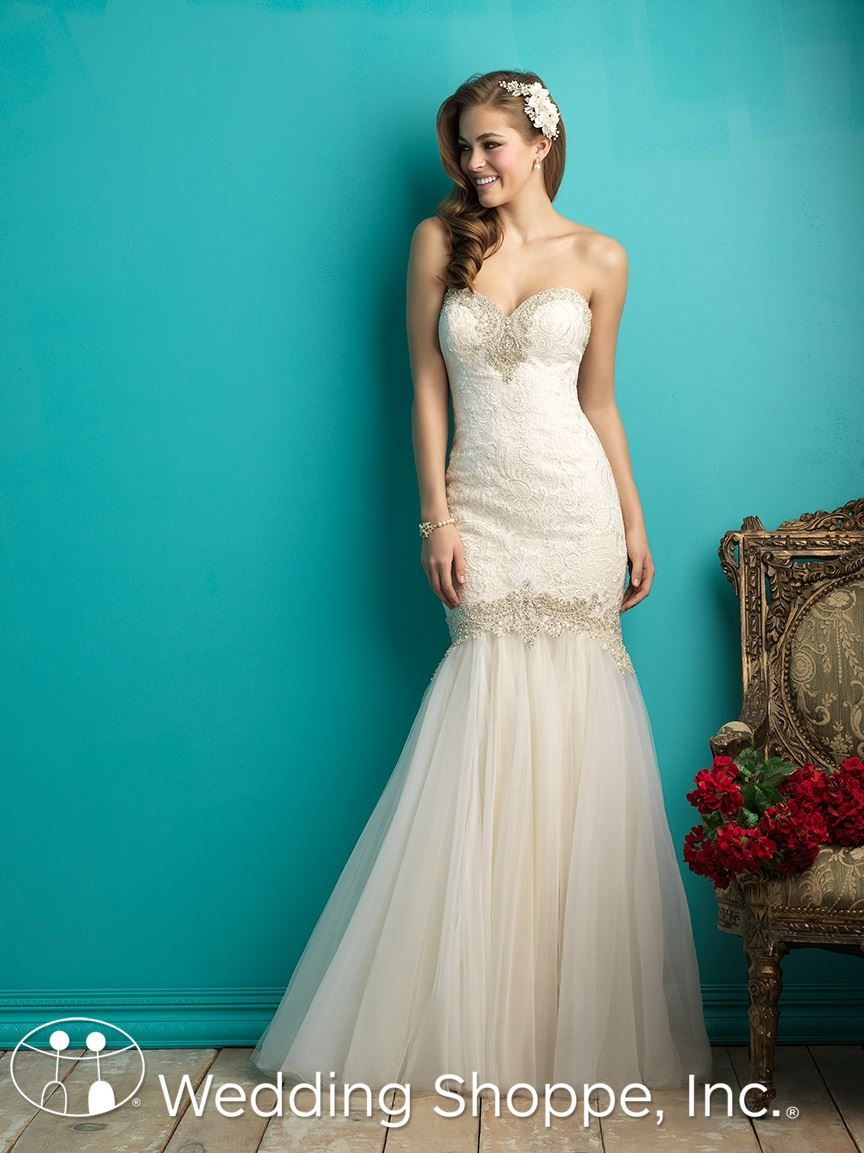 A breathtaking strapless bridal gown | Allure 9263 | Member Board ...