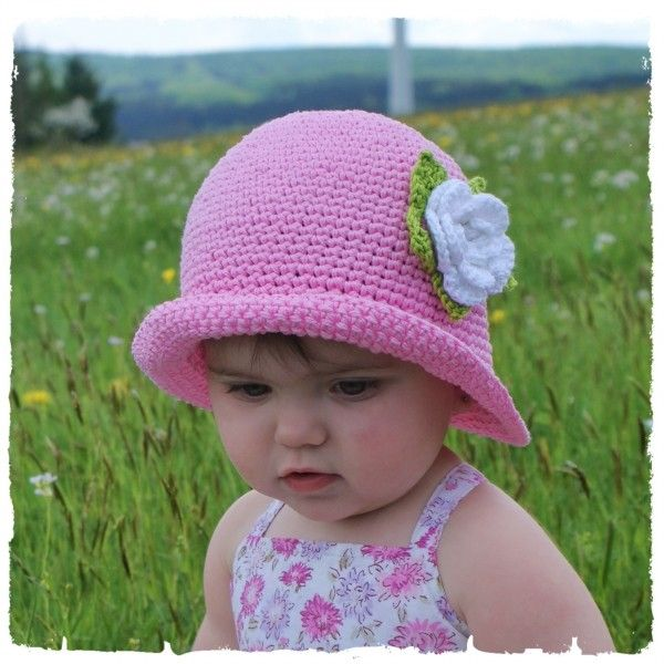 Sommer Hut Selber Häkeln Diy Kinder Hut Hats Pinterest