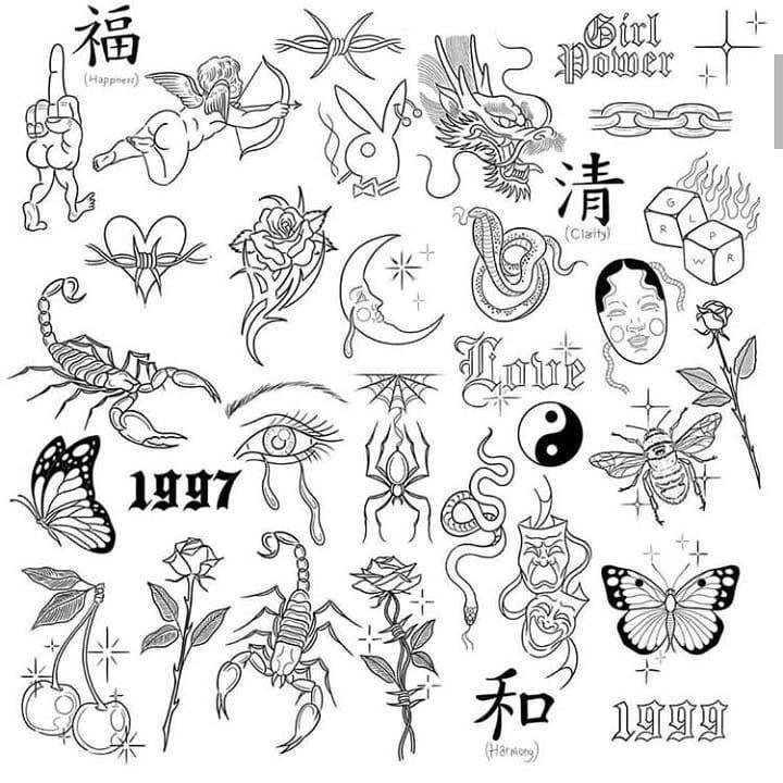 "Photo of @tattoo.amateur on Instagram: ""@elzavanhouden  #тату #татуировки #эскизытатуировок #эскиз #татукиев #татумосква #скеч"" – Homemade Tattoo 2020"