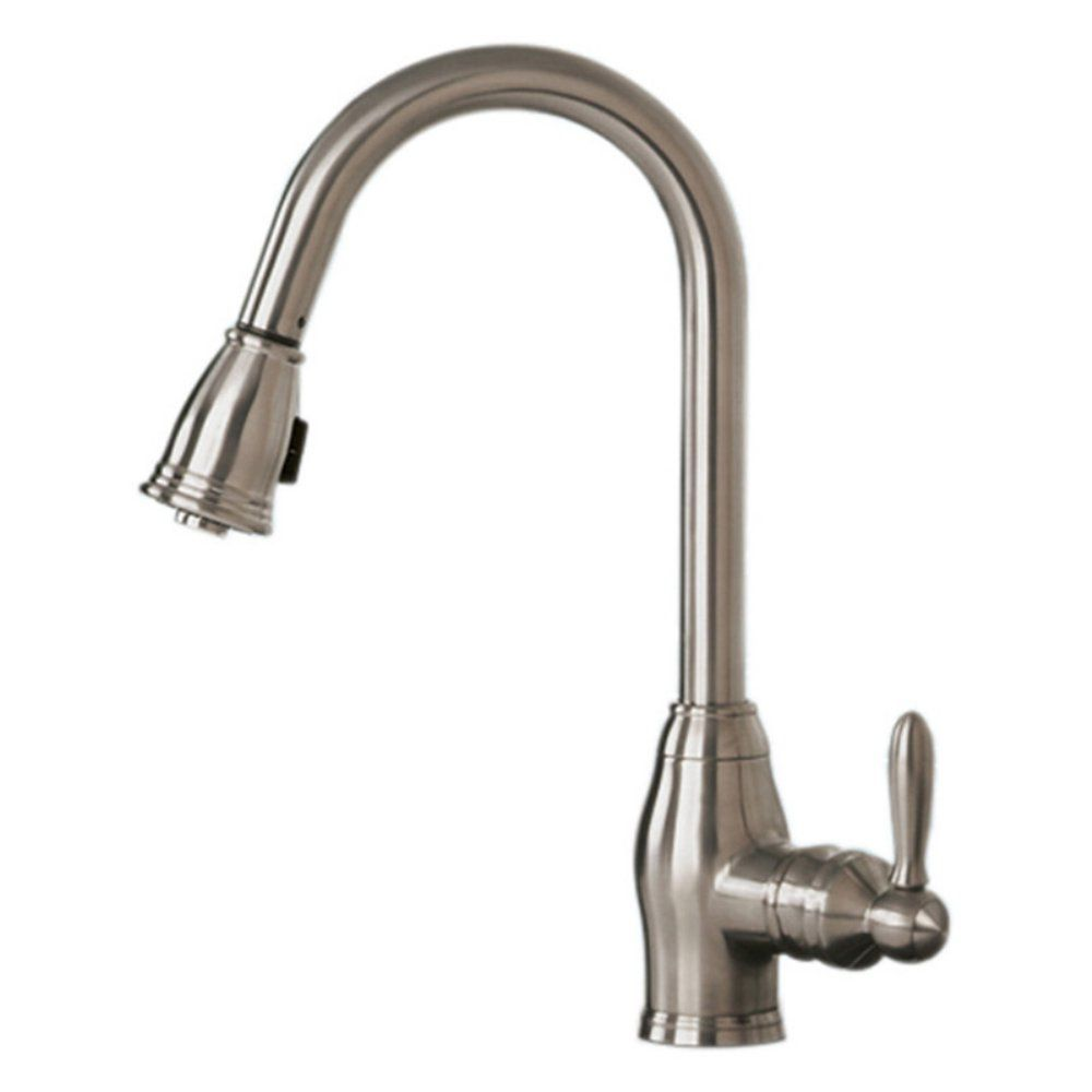 Pegasus Newbury Fp0a5013bnv Single Handle Pull Down Kitchen Faucet