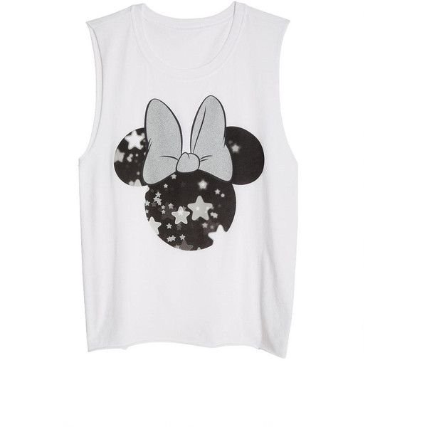 Minnie Stars Tank ($11) ❤ liked on Polyvore featuring tops, shirts, tanks, remeras, star tank top, shirts & tops, loose fitting shirts, oversized tank tops and loose fit tank tops