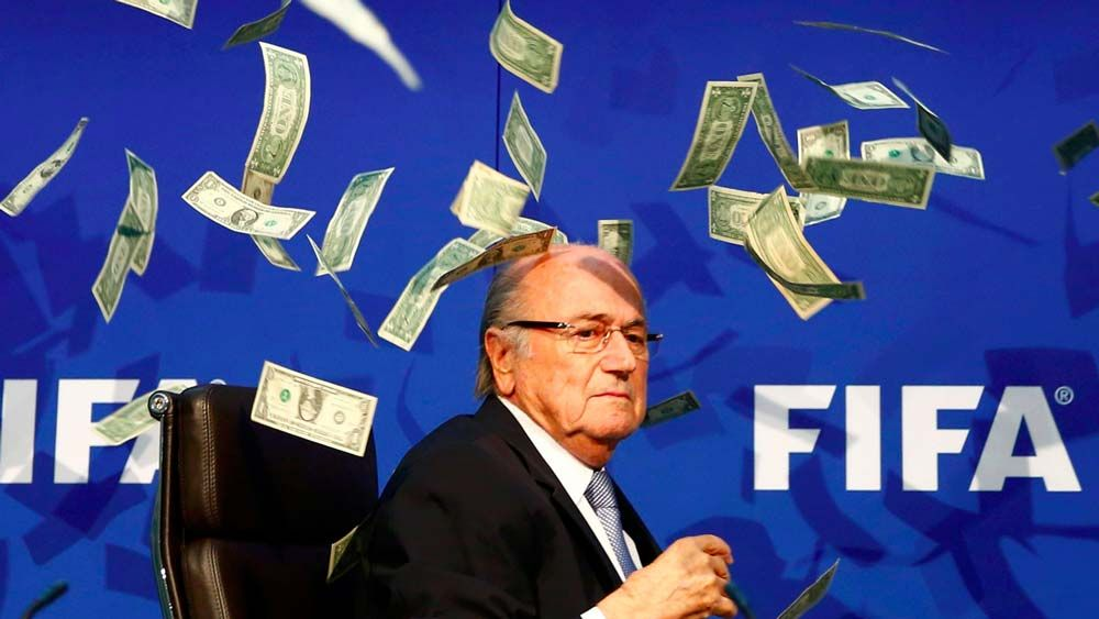 The 15 Worst Scandals In Sports History Fifa, Michel