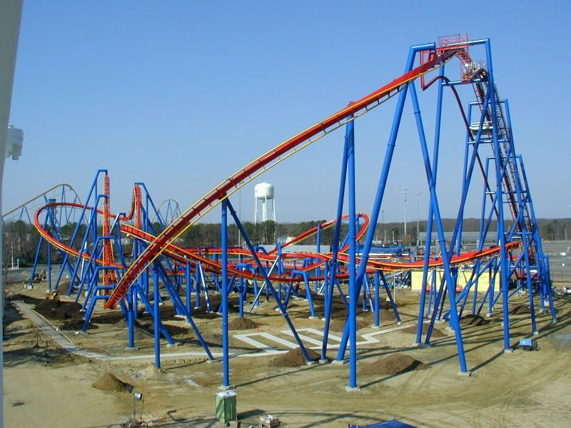 Superman - Ultimate Flight at Six Flags Great Adventure in ...