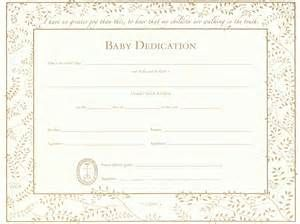Related For  Baby Dedication Certificate Template  KidS Chuch